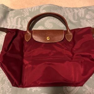 Longchamp Small Le Pliage Top Handle Tote NWT